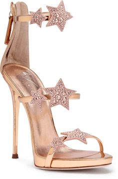 Clothing, Shoes, Accessories Heels Amiable Giuseppe Zanotti Velvet Block Heel With Crystals Delicacies Loved By All