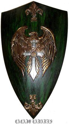 Eagle Medieval Shield by CacaioTavares on deviantART.