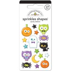 - Looking to sprinkle some cheerful charm on your next craft or card? Then reach for a pack of Sprinkle Shapes! - Colorful epoxy stickers in fantastic icons and designs, matched perfectly to your favo
