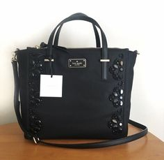 0b9eb39371e2 Details about NWT Authentic KATE SPADE alyse wilson road Embellished crossbody  bag 6 COLORS. Crossbody ClutchSatchelBlack ...