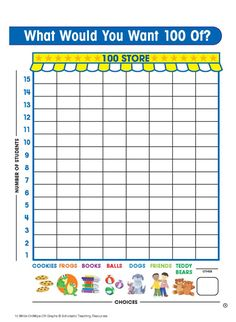 What do you want 100 of? Vacation days, massages, roses? How about 100 hugs? This printable worksheet will help your child learn to count to 100.