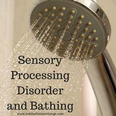 Many people with sensory issues find showering difficult. Shawna asked for suggestions on her Facebook page, and these are outlined in this post.