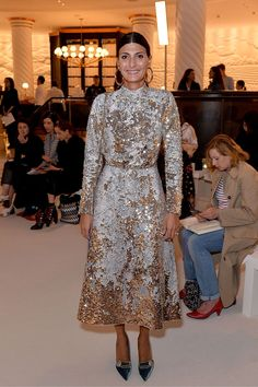 LFW: Front Row And Parties | British Vogue