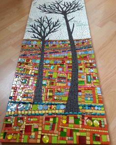 Mosaic Art Diverse City Series piece by ringmosaics on EtsyNo automatic alt text available. Mosaic Pots, Mosaic Wall, Mosaic Glass, Mosaic Stairs, Mosaic Crafts, Mosaic Projects, Art Projects, Mosaic Madness, Mosaic Designs