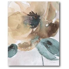 Found it at Joss & Main - Watercolor Flower Bloom Canvas Print