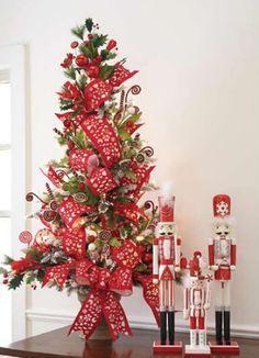 Christmas Tree Theme Ideas | Flocked christmas tree decorating ideas | Trees, Flowers and Plants