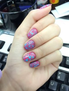 Cotton candy nails by BunBun1114 on the #Sephora Beauty Board