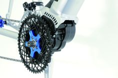The motor can be adapted to work with different types of bike