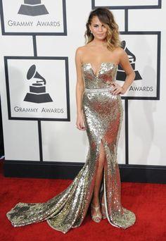 At the Grammys on Jan. 26, 2014.
