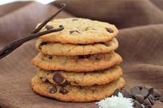 Oatmeal, Coconut, Chocolate Cookies