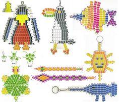 Pony beads patterns
