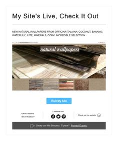 My Site's Live,Check It Out