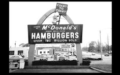 VINTAGE McDonald's Restaurant PHOTO Sign Burger Joint 1960s Drive-In Diner - $2.16. Amazing Collectible! Perfect to frame and display! Gorgeous 5x7 inch perfect photograph. Digitally enhanced and professionally reprinted (not some junk printed on a home computer printer) only the finest quality!!! Wonderful 5x7 glossy photo I ship quickly and carefully so rest assured your item will be a wonderful addition to any photograph collection! Thanks for looking 401458088038