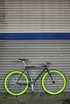 My Fixed Gear Bike only way to go