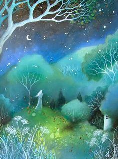 Подлунные миры... Таинственная живопись Amanda Clark. Обсуждение на LiveInternet - Российский Сервис Онлайн-Дневников