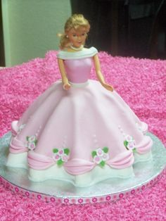 Doll Birthday Cake By sharonk on CakeCentral.com