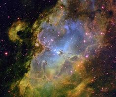 The Eagle Nebula from Kitt Peak (Arizona) - Astronomy Picture of the Day, 16 April 2012