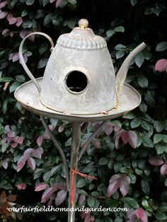 Repurposed Tea Kettl