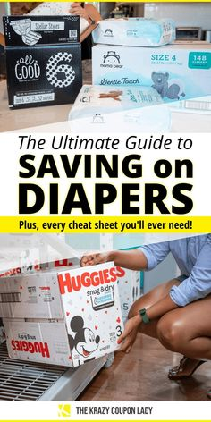 How to Get Cheap Diapers All Year (So You Don't Go Baby Broke) - The Krazy Coupon Lady Save On Diapers, Cost Of Diapers, Huggies Diapers, Free Diapers, Newborn Diapers, Best Diaper Brand, Parents Choice Diapers, Huggies Pull Ups