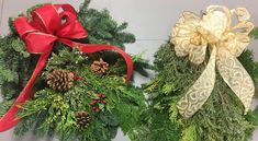 Harvesting evergreens for holiday decorations: University of Illinois Extension Holly Plant, Red Twig Dogwood, Holly Bush, Evergreen Trees, New Growth, Red Berries, Holiday Festival, How To Make Wreaths, Hedges