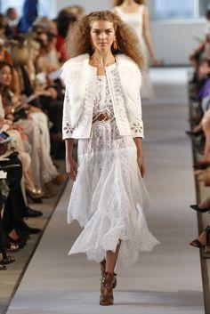 Oscar de la Renta #nyfw obsessed w/white dresses