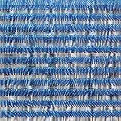 Nikola Dimitrov, FarbRaum Blau III, Pigmente, Bindemittel, Lösungsmittel auf Leinwand, 70 x 70 cm, 2014