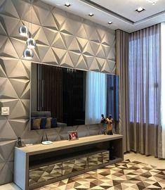 Living room tv wall decor bathroom 40 ideas for 2019 Tv Wall Decor, Bathroom Wall Decor, Room Interior, Home Interior Design, Tv Wanddekor, Living Room Tv Unit Designs, Rooms Home Decor, House Design, Decoration