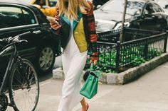 Street Style: New York Fashion Week Spring 2016 |