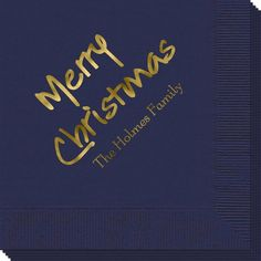 Studio Merry Christmas Napkins