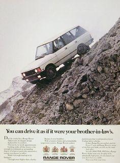 1988 Land Rover, Range Rover
