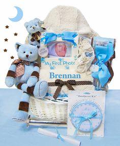 $499.95 NEW ARRIVAL!!  Luxurious Newborn Baby Boy Gift Basket