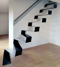 Increíble escalera ....