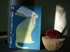 Für die Kunst-Raub Aktion Nr.3 NofreTETE wurde diese Collage angefertigt.  Da die alten Ägypter auch Katzen als Götter verehrten dachte ich mir ...