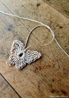 Crochet Butterfly - Chart.