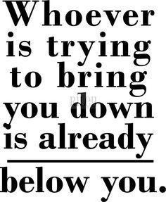 Below You