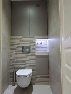 WC Suspendu Contemporain  Design Lave main Corian Robinet mural automatique, distributeur Savon automatique