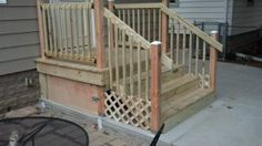 Pro #195103 | Best Handyman | Wauwatosa, WI 53226 Deck, Stairs, Outdoor Decor, Home Decor, Stairway, Decoration Home, Room Decor, Front Porches, Staircases