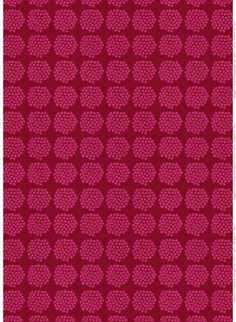 Marimekko's holiday mood: Puketti pattern, design by Annika Rimala for Marimekko