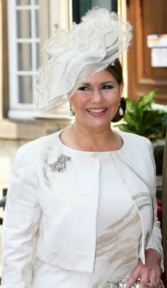 Grand Duchess Maria Teresa, June 23, 2009 in Fabienne Delvigne