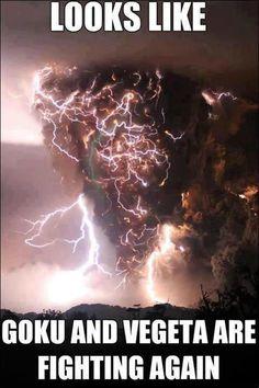 Goku and Vegeta are fighting again!