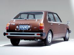 1976 Honda Civic 4-door