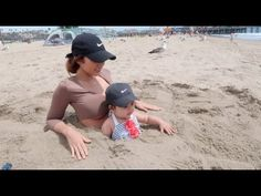 MOMMY AND BABY TRAPPED IN SAND!!! - YouTube