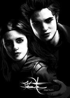 Bella and Edward - Fan Art - The Twilight Saga
