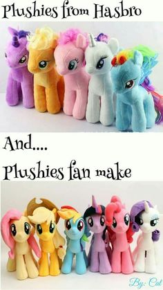 Whelp... We all know which ones better... Do you think Hasbro had even seen a single episode of MLP?!
