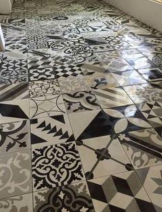 Patchwork tile