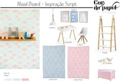 Conceptboard by Script Wallpaper. Inspiration for kids