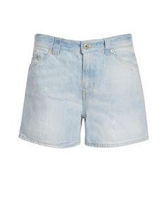 Dondup Shorts LAUNA - hellblau Jetzt auf kleidoo.de bestellen!  #shorts #denim #jeans #blue #hellblau #festival