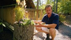 """WE bútorok 41 """"-es faanyag szekrény - Driftwood - Driftwood 4 Us Buy Driftwood, Driftwood Planters, Driftwood Furniture, Hanging Flower Pots, Flower Planters, Garden Planters, Log Planter, Planter Boxes, Planter Ideas"""