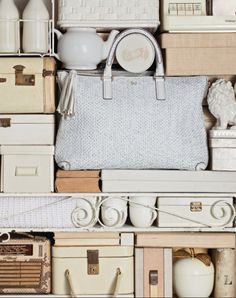 collage color palette - photo by Anya Hindmarch Living Colors, Neutral, Shades Of White, Anya Hindmarch, Oeuvre D'art, Color Inspiration, Fashion Bags, Women's Fashion, Color Schemes