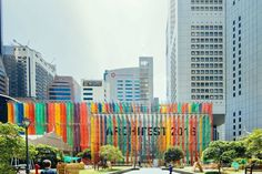 El pabellón de Archifest 2016, diseñado por DP Architects